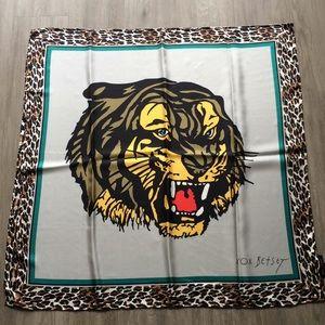 Betsey Johnson new silk scarf